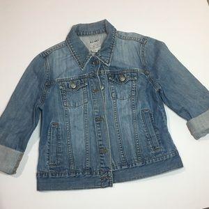 🔥FREE🔥Old Navy denim jean jacket medium